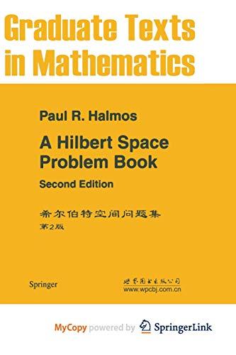 9781468493313: A Hilbert Space Problem Book