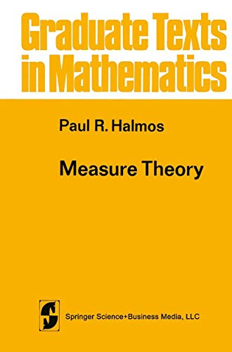 9781468494426: Measure Theory (Graduate Texts in Mathematics)