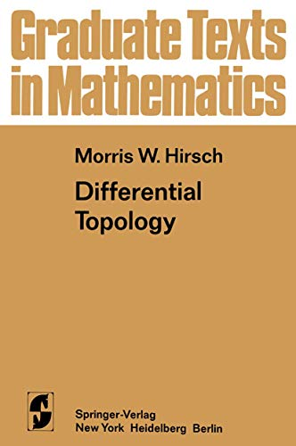 9781468494518: Differential Topology (Graduate Texts in Mathematics)