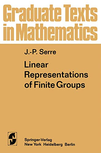 9781468494600: Linear Representations of Finite Groups: 42