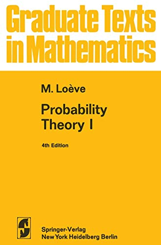 9781468494662: Probability Theory I (Graduate Texts in Mathematics)