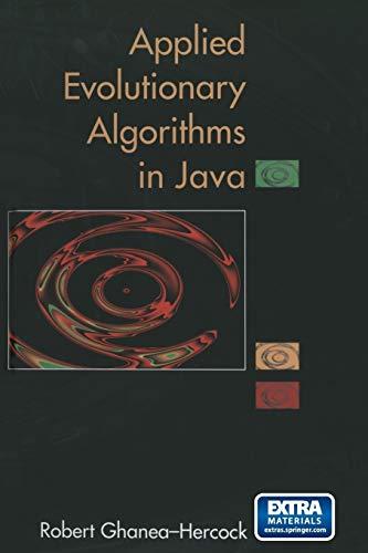 9781468495263: Applied Evolutionary Algorithms in Java