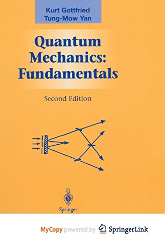9781468495287: Quantum Mechanics: Fundamentals