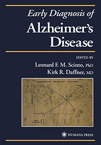 9781468496017: Early Diagnosis of Alzheimer's Disease (Current Clinical Neurology)