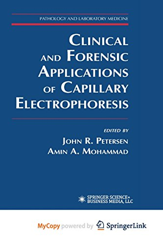 9781468496512: Clinical and Forensic Applications of Capillary Electrophoresis
