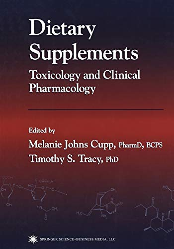 9781468497267: Dietary Supplements: Toxicology and Clinical Pharmacology (Forensic Science and Medicine)