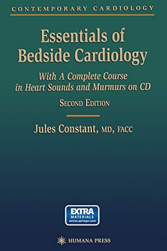 9781468497540: Essentials of Bedside Cardiology: A complete Course in Heart Sounds and Murmurs on CD (Contemporary Cardiology)