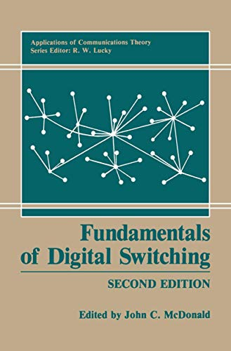 9781468498820: Fundamentals of Digital Switching (Applications of Communications Theory)
