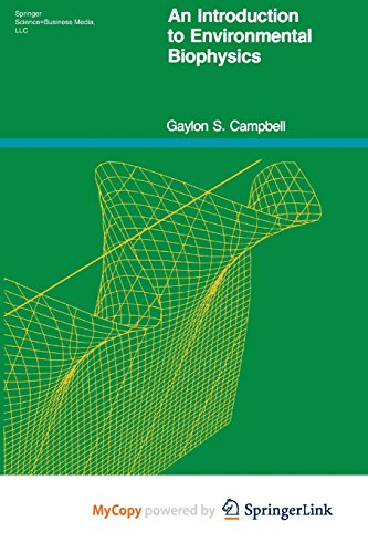 9781468499186: An Introduction to Environmental Biophysics