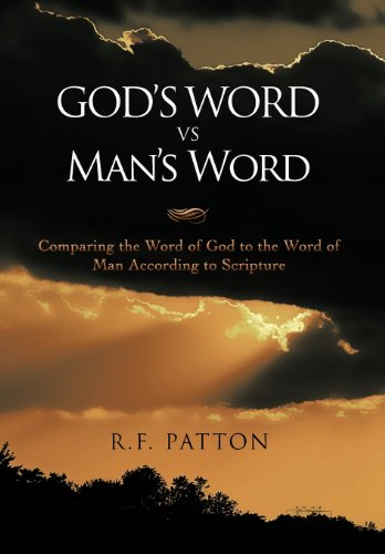 9781468536065: GOD'S WORD vs. Man's Word