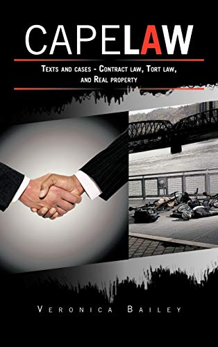 9781468576979: CAPE LAW: Texts and cases - Contract law, Tort law, and Real property