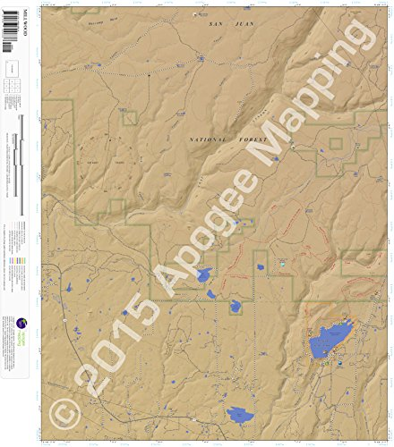 9781468800838: Millwood, Colorado 7.5 Minute Topographic Map - Waterproof Paper