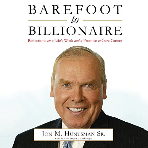 9781469061115: Barefoot to Billionaire: Reflections on a Life's Work and a Promise to Cure Cancer: Library Edition
