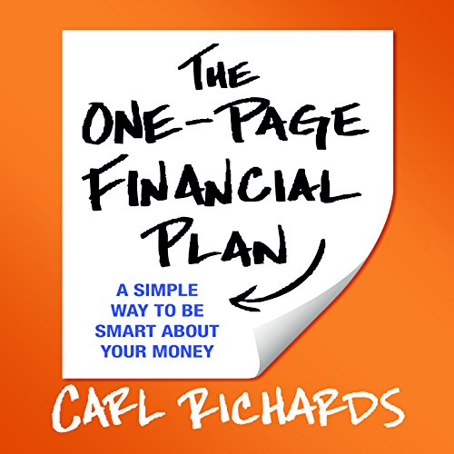 9781469061979: The One-Page Financial Plan: A Simple Way to Be Smart About Your Money