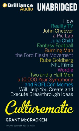 Culturematic: How Reality TV, John Cheever, a Pie Lab, Julia Child, Fantasy Football . . . Will ...