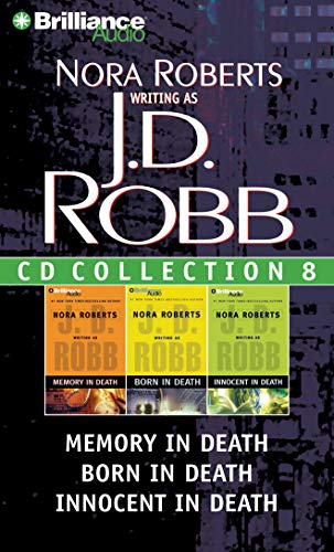 9781469205939: J. D. Robb CD Collection 8: Memory in Death, Born in Death, Innocent in Death (In Death Series)