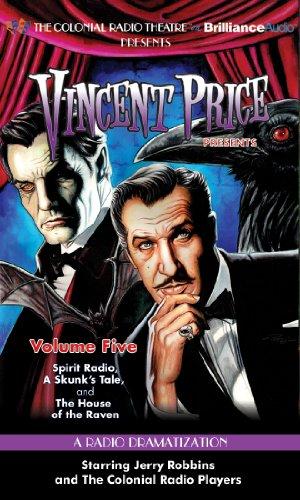 9781469208657: Vincent Price Presents - Volume Five: Three Radio Dramatizations