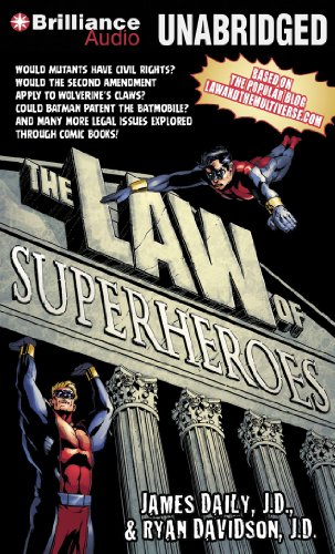 9781469213668: The Law of Superheroes
