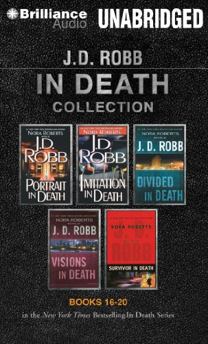 9781469226767: J. D. Robb In Death Collection Books 16-20: Portrait in Death, Imitation in Death, Divided in Death, Visions in Death, Survivor in Death (In Death Series)