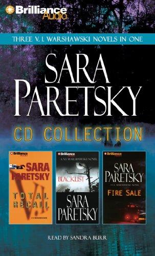 9781469229126: Sara Paretsky CD Collection: Total Recall, Blacklist, Fire Sale (V. I. Warshawski)
