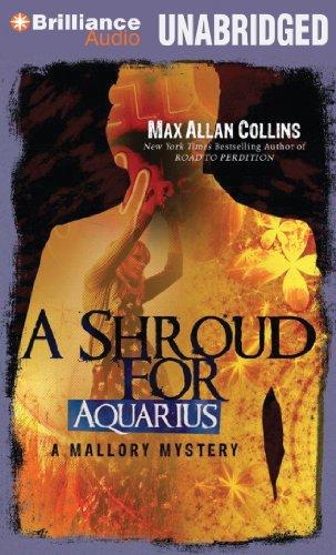 A Shroud for Aquarius (A Mallory Novel): Collins, Max Allan