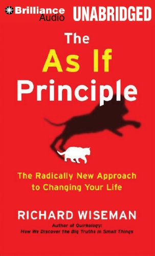 9781469270142: The As If Principle: The Radically New Approach to Changing Your Life