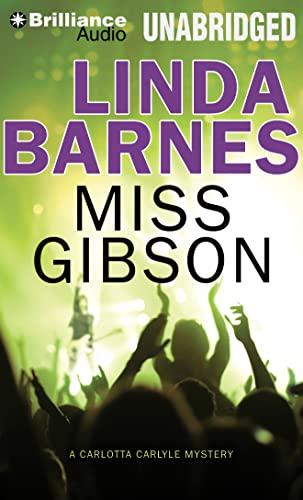 9781469275727: Miss Gibson (Carlotta Carlyle Mysteries (Audio))