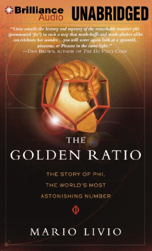 The Golden Ratio: The Story of Phi, the World's Most Astonishing Number (1469286092) by Livio, Mario