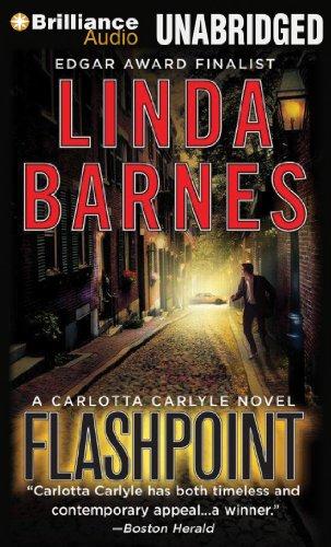 Flashpoint (Carlotta Carlyle Series): Barnes, Linda