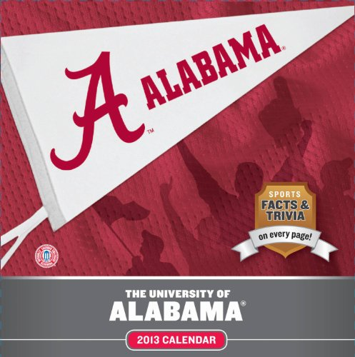 9781469303468: University Of Alabama 2013 Calendar