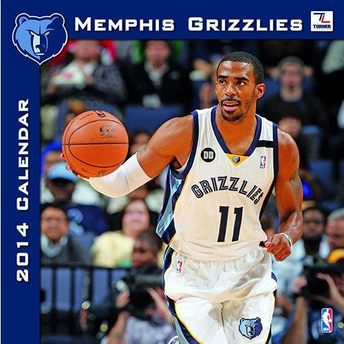 Memphis Grizzlies 2014 Calendar