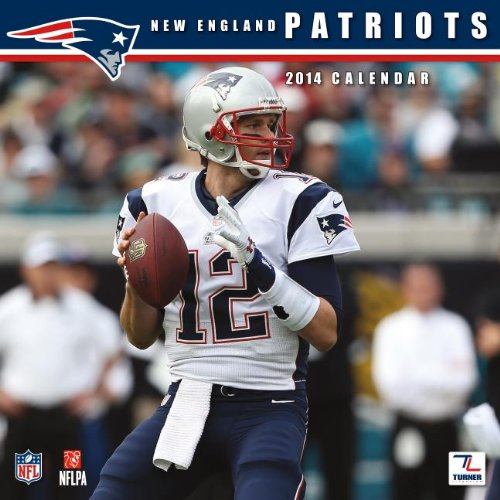 9781469310756: 2014 New England Patriots Wall Calendar