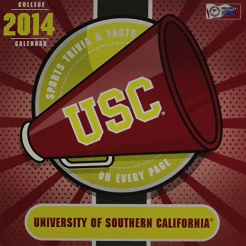 9781469312071: USC Trojans 2014 Calendar