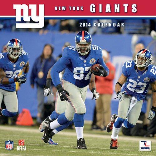 New York Giants 2014 Calendar