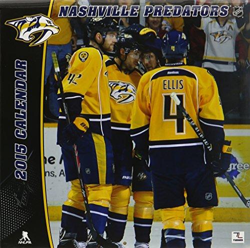 9781469319445: Nashville Predators 2015 Calendar
