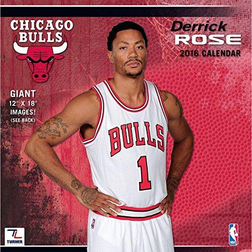 9781469326108: Chicago Bulls Derrick Rose 2016 Calendar