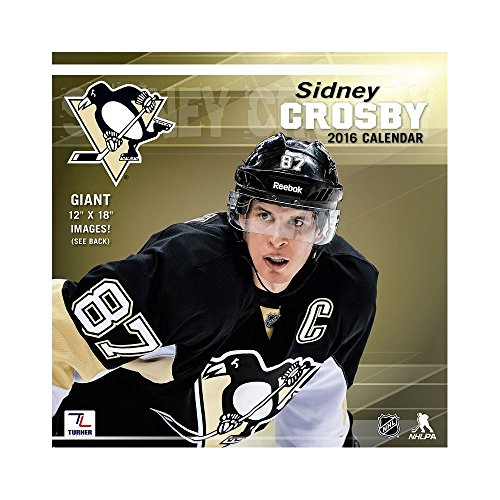 9781469326252: Pittsburgh Penguins Sidney Crosby 2016 Calendar