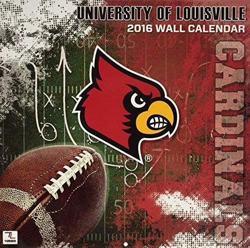 9781469326382: Louisville Cardinals 2016 Calendar