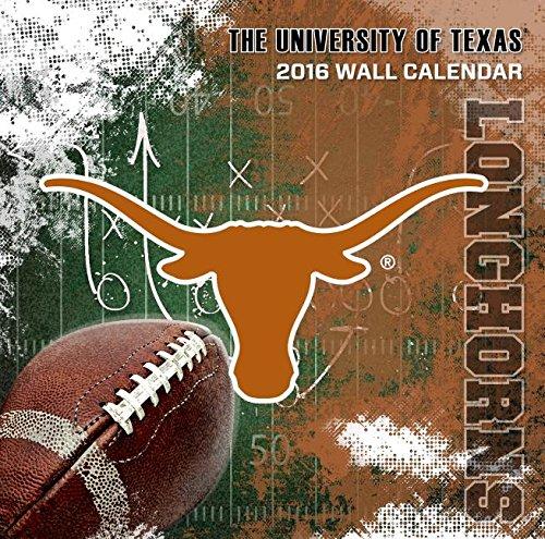 9781469326559: Texas Longhorns 2016 Calendar