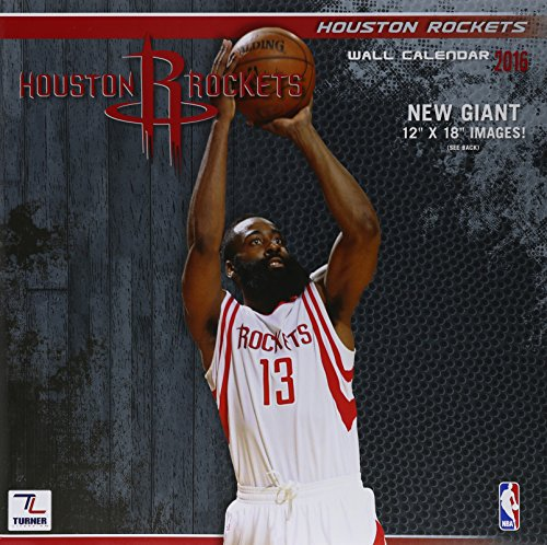 9781469327136: Houston Rockets 2016 Calendar