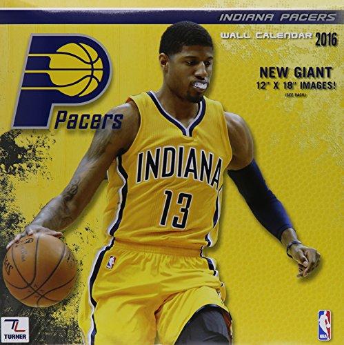 9781469327143: Indiana Pacers 2016 Calendar