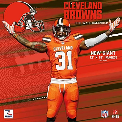 9781469327402: Cleveland Browns 2016 Calendar
