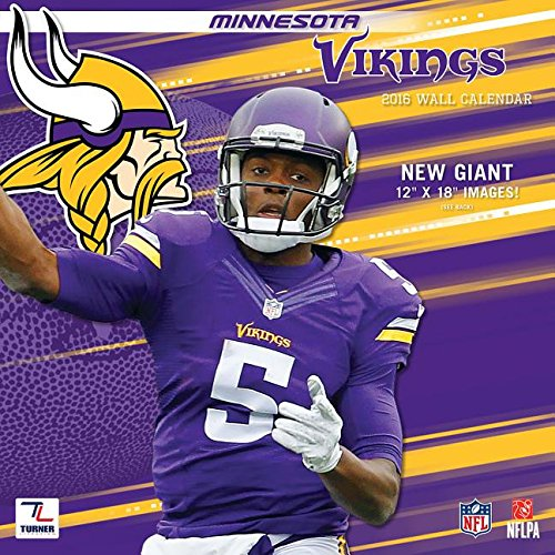 9781469327501: Minnesota Vikings 2016 Calendar