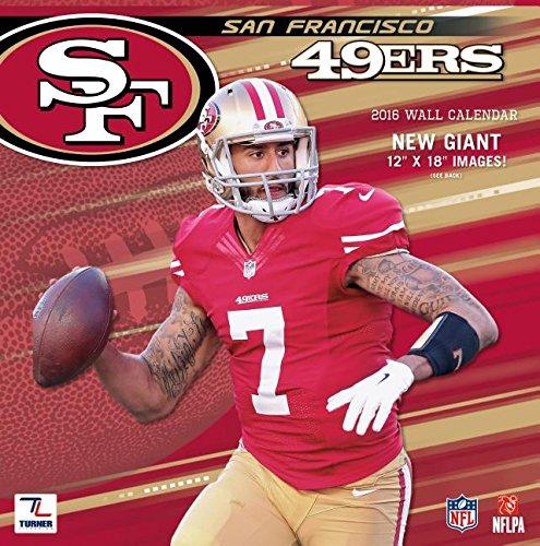 9781469327594: San Francisco 49ers 2016 Calendar