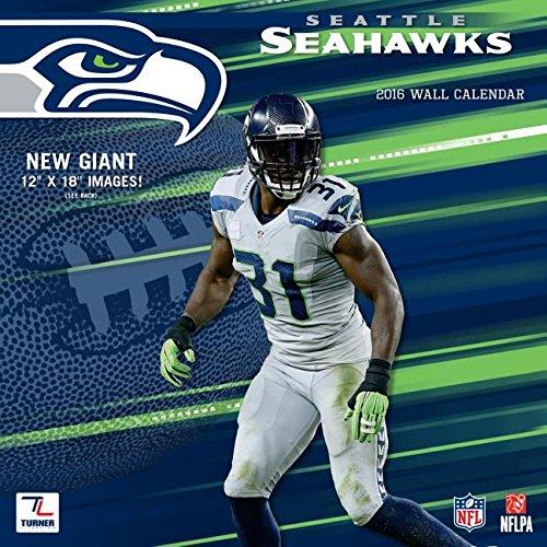 9781469327600: Seattle Seahawks 2016 Wall Calendar