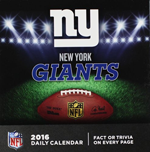 9781469328904: New York Giants 2016 Calendar