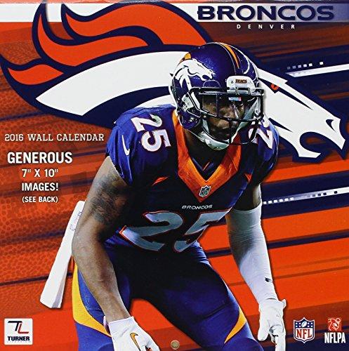 9781469329581: Denver Broncos 2016 Calendar