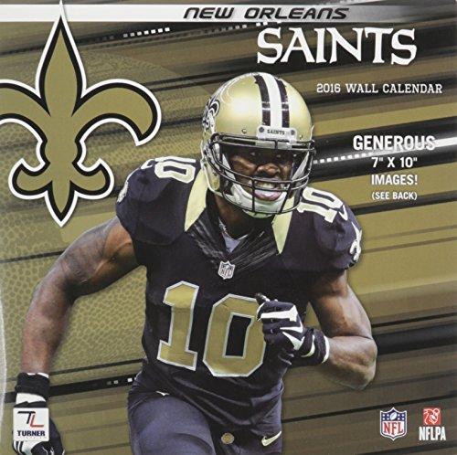 New Orleans Saints 2016 Calendar