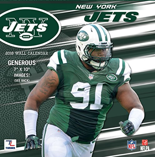 9781469329697: New York Jets 2016 Calendar