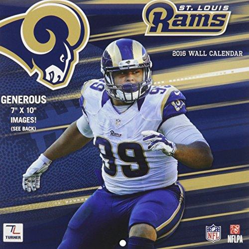 9781469329765: St. Louis Rams 2016 Calendar